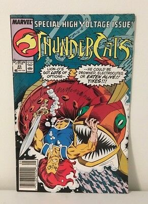 Marvel Comic Thundercats #23 May 1988