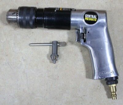 """Central Pneumatic #98896 1/2"""" Reversible Air Drill"""