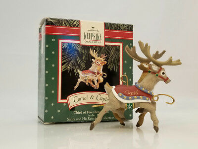 Hallmark Ornament 1992 Comet and Cupid - Santa and His Reindeer - #XPR9737-DB