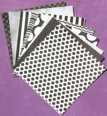 Black Jack - 6x6 Recollections Scrapbooking Paper Pack - LAST SET