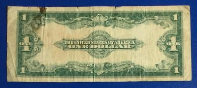 """1923 $1 Blue """"LARGE SIZE"""" SILVER Certificate """"HORSEBLANKET"""" X933 Old Currency"""