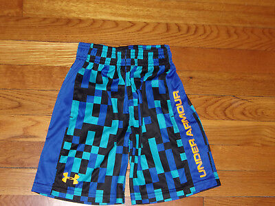 Under Armour Athletic Shorts Boys Size 6 Excellent Condition
