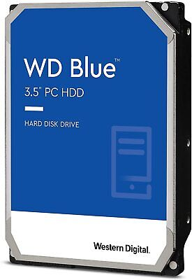 "WD 1TB Blue 3.5"" SATA Internal Desktop Hard Drive HDD 7200RPM Western Digital"