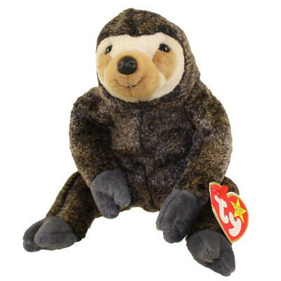 TY Beanie Baby - SLOWPOKE the Sloth (5.5 inch) - MWMTs Stuffed Animal Toy