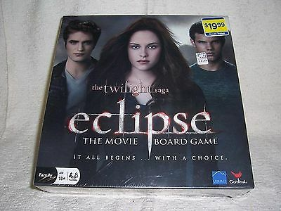 The Twilight Saga Eclipse Adult  Board Game By Cardinal Inc-Factory Sealed!