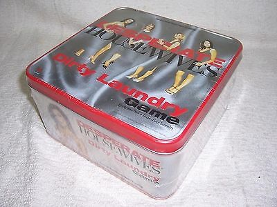 Desperate Housewives Dirty Laundry Adult Tin Game By Touchstone-Sealed