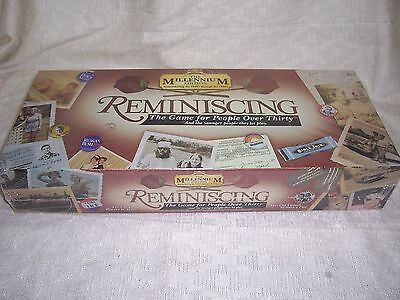Reminiscing Game 2000 Millenium Edition For People Over 30 Board Game-Sealed