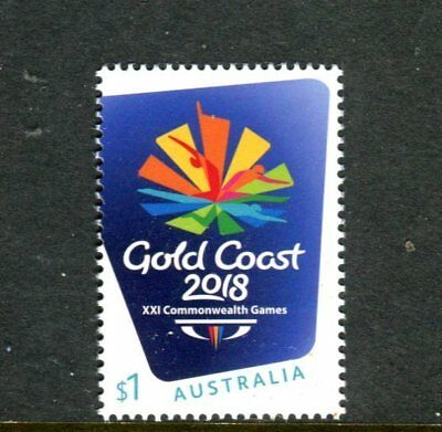 2018 XXI Commonwealth Games Gold Coast Queensland - MUH $1 Stamp