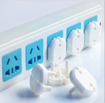 Electrical 10pcs Child EU Plug Socket Cover Guard Mains Protector Baby Safety