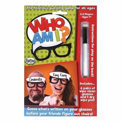 Who Am I? Name Guessing Game Guess Who Party Games