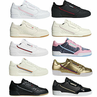 the latest 298d3 d9d9e ADIDAS ORIGINALS CONTINENTAL 80 Damen Sneaker Turnschuhe Schuhe Freizeit  Retro