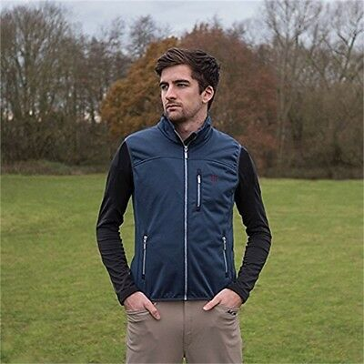 Mark Todd Softshell Body Warmer X Large Navy - Mens Gilet All Sizes Jacket New