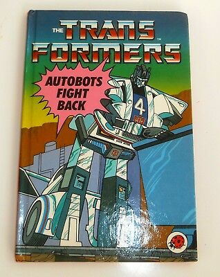 Vintage Ladybird Books ~ FIGHT BACK ~ Transformers ~ NEW 1st Edition (HE47)