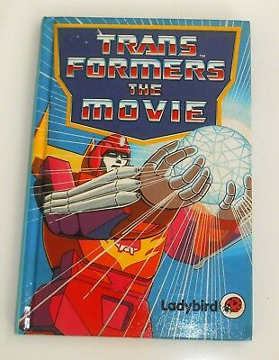 Vintage Ladybird Books ~ THE MOVIE ~ Transformers ~ 1st Edition (HE48)