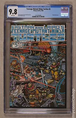 Teenage Mutant Ninja Turtles #5 1985 CGC 9.8 0311616006
