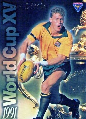 Futera 1995 Rugby Union Wallabies Gold Trading Card Jason Little