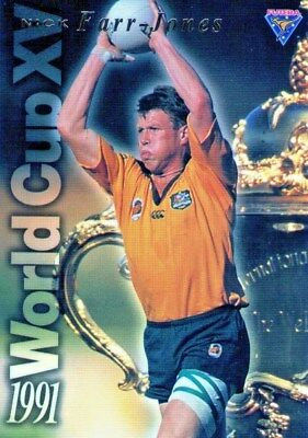 Futera 1995 Rugby Union Wallabies Gold Trading Card Nick Farr-Jones