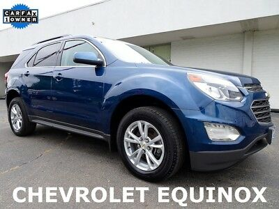 Chevrolet Equinox LT 2017 Chevrolet Equinox LT SUV Used Certified 2.4L I4 16V Automatic FWD