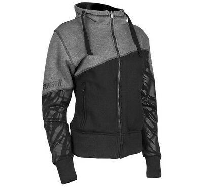 Speed & Strength Cat Out'a Hell Womens Zip Up Armored Hoody Black