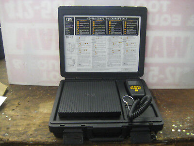 CPS CC800A Compute-A-Charge Portable Refrigderant Scale 0-200 Lbs.