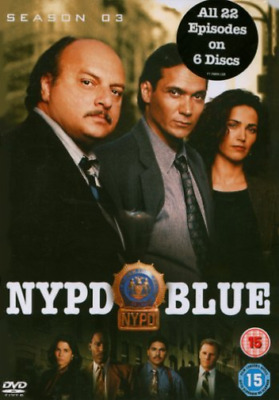 Dennis Franz, Gordon Clapp-NYPD Blue: Season 3 (Box Set)  (UK IMPORT)  DVD NEW