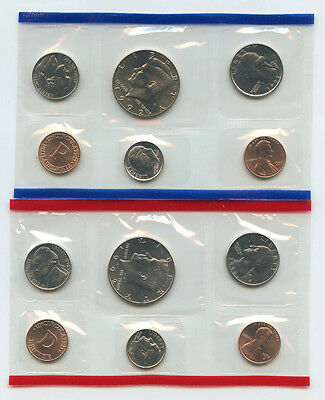 1992 United States Mint Coin Set - P & D - Uncirculated - Official