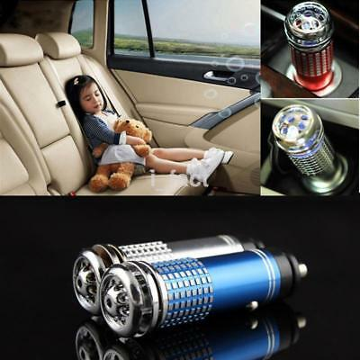 Universal Mini Car Oxygen Bar Car Fresh Air Ionic Purifier Ozone Ionizer Cleaner