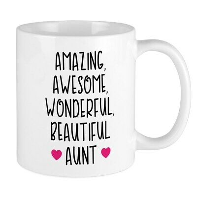 CafePress Amazing Aunt 11 oz Ceramic Mug (156128721)