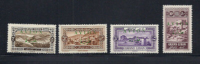 LEBANON 1925 AIRMAILS (Scott C9-12) MNH (except C12 which is LH)