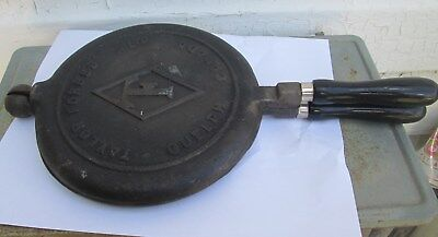 Antique Taylor Forbes Ltd  Guelph Canada Waffle Iron Cast Iron  Pans Only