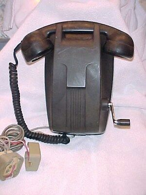 Old Antique Wall Mount Telephone