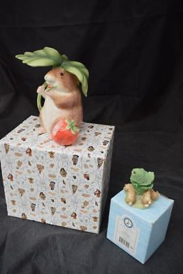 Pair OF Beatrix Potter Items The Flopsy Bunnies & Timmy Willie Money Box