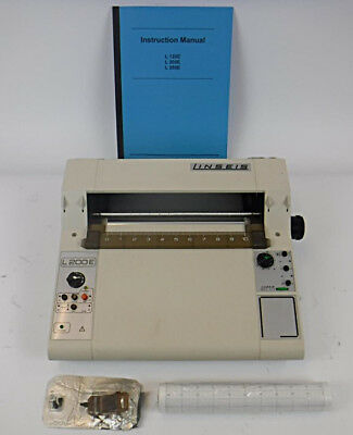 Linseis L200E Single Channel Flat Bed Graph Chart Recorder - TESTED & WORKING