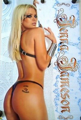"Jenna Jameson / Original Poster #1192 / exc. new cond. / 22 1/4 x 34 1/2"" pin-up"