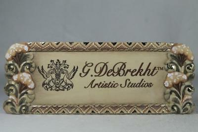 G. DeBrekht-Russia 'Plaque' With Velcro Display Sign #59099-3 NEW