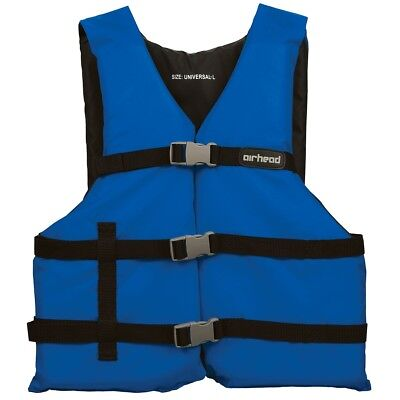 "Airhead General Boating Life Vest Blue Universal (30-52"")"