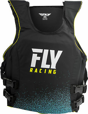 Fly Racing Pullover Floatation Vest Black/White