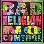 Bad Religion - No Control (re-issue) NEW CD