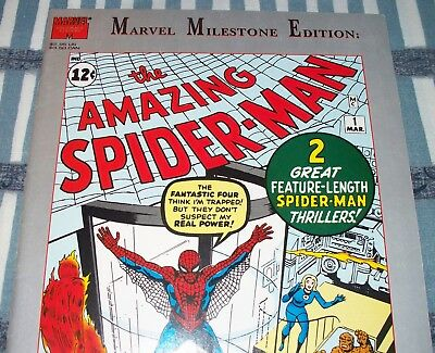 Amazing Spider-Man #1 Marvel Milestone Edition Reprint from Jan. 1993 in F/VF NS