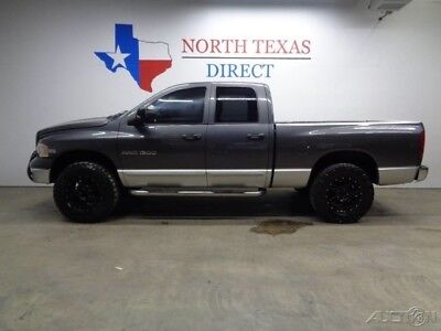 Dodge Ram 1500 2003 SLT 4WD 5.7L V8 Hemi Black Wheels Cold Air In 2003 2003 SLT 4WD 5.7L V8 Hemi Black Wheels Cold Air In Used 5.7L V8 16V