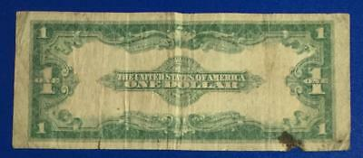 """1923 $1 Blue """"LARGE SIZE"""" SILVER Certificate """"HORSEBLANKET"""" X413 Old Currency"""