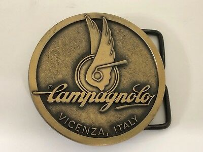 Campagnolo Bronze Belt Buckle 1980 Free Shipping
