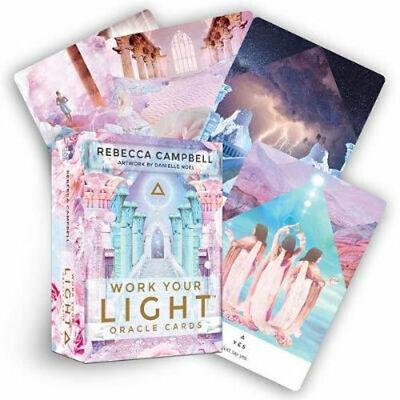 NEW Work Your Light Oracle Cards By Rebecca Campbell Card or Card Deck