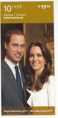 Canada 2 Different Royal Wedding Booklets Both Po Fresh And Free Shipping