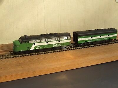 DIESEL LOCOMOTIVE  A&B BURLINGTON NTH  HO by COX