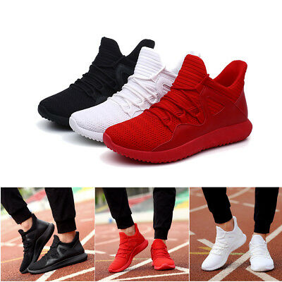Men Mesh Breathable Sports Running Winter Lace Up Sneakers Soft Athletic Shoes