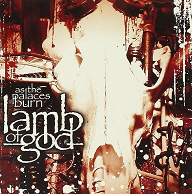 LAMB OF GOD-As The Palaces Burn  (UK IMPORT)  CD NEW
