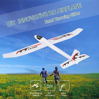 FX-707 Wingspan Hand 1210mm Throwing Glider Wing RC Racing White DIY Drone
