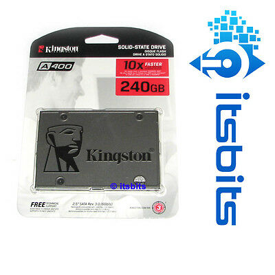 """KINGSTON A400 SSD 240GB SSD SATA3 6Gb/s 2.5"""" 3 YEARS Wty SOLID STATE DRIVE NEW"""