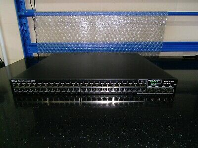 Dell PowerConnect 6248 48-port Gig Layer 3 Switch + 10G Stacking module